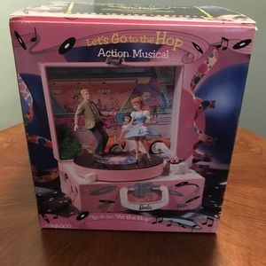 RARE Enesco Barbie Music Box